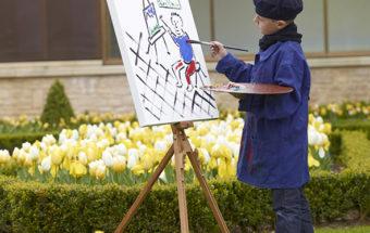 Artiste en herbe