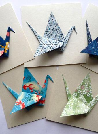 Calendrier de noël et cartes de vœux origami