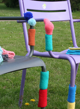 "Second edition of ""knitting on the grass"" encounters"