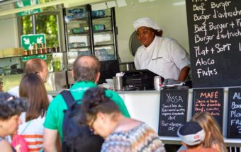 Afrikan Gourmet every Thursday and Friday at Villa Vauban