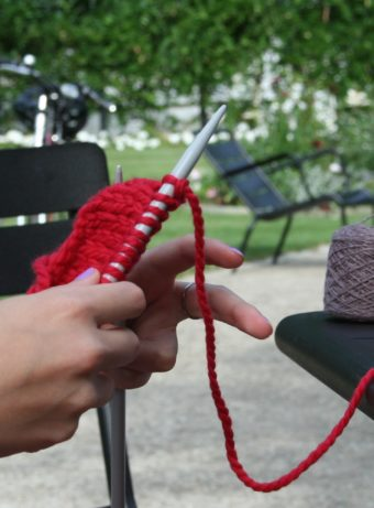 "Another meeting ""Knitting in the grass"""