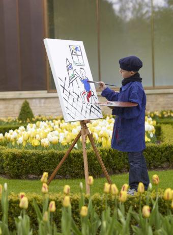 Les artistes en plein air